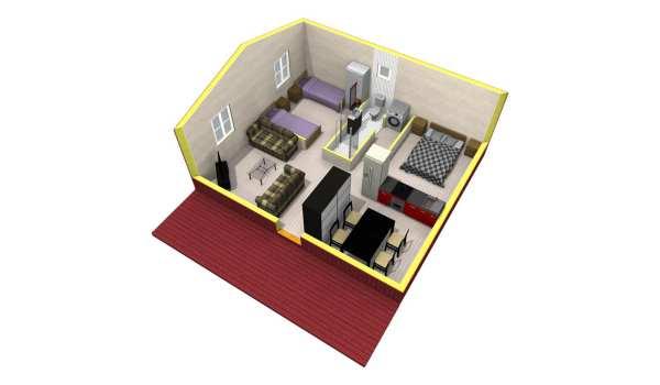 50m2 plan-2 3D